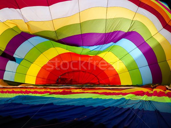 Colorful balloon inside Stock photo © nuttakit