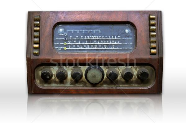 Dirty old radio Stock photo © nuttakit