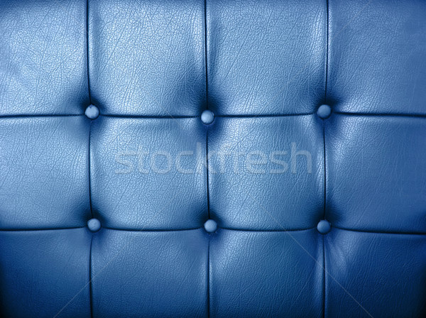 Blue leather background Stock photo © nuttakit