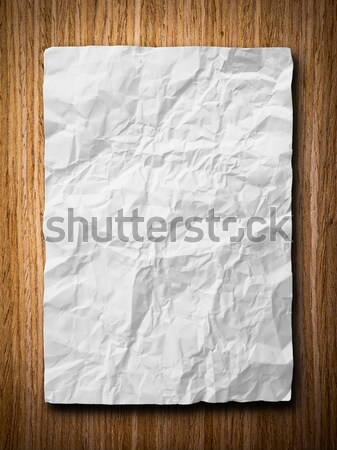 Paper on the golden rock Stock photo © nuttakit