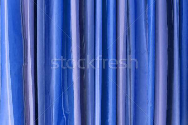 Blue Tone Curtain Stock photo © nuttakit