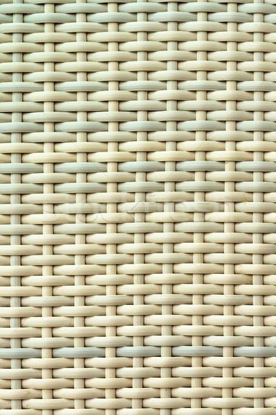 Lumière brun couleur osier texture modèle Photo stock © nuttakit