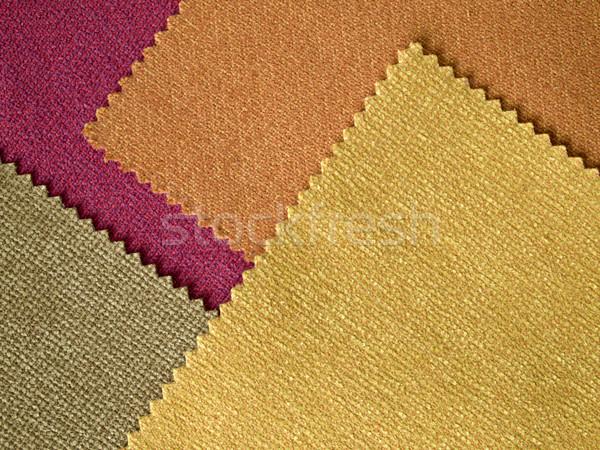 Campione tessuto caldo colore strato texture Foto d'archivio © nuttakit