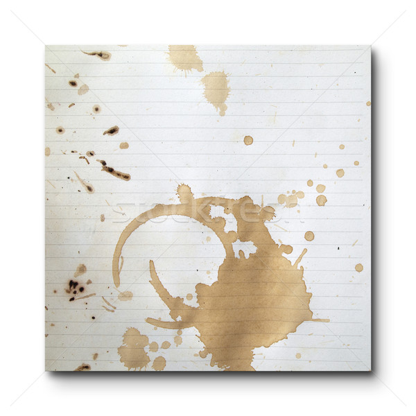 Coffee stains Stock photo © nuttakit