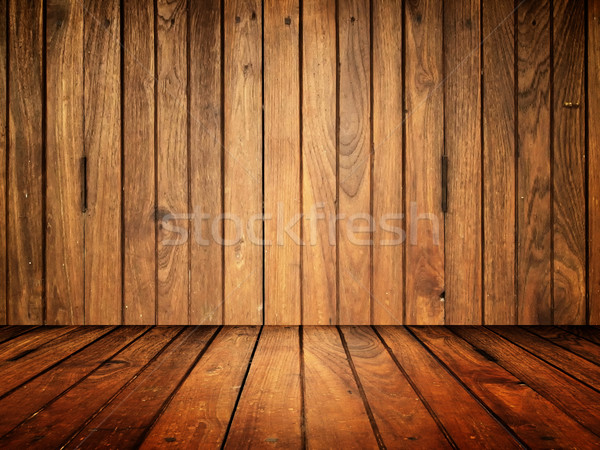Old wood room Stock photo © nuttakit