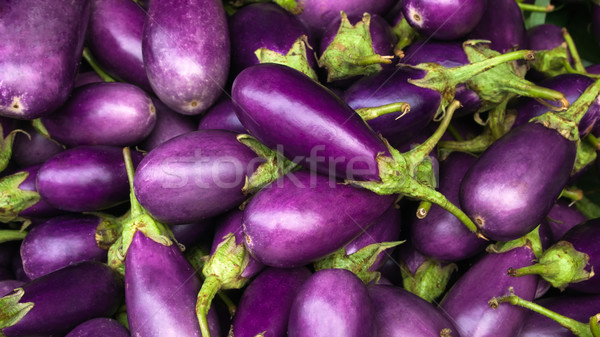 Aubergine pourpre nature fruits fond ferme Photo stock © nuttakit