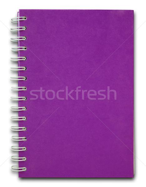Rood dekken nota boek paars business Stockfoto © nuttakit