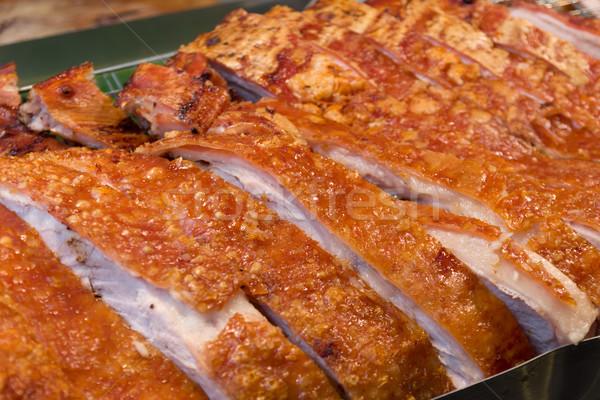 Chinese style Roasted Pork Stock photo © nuttakit