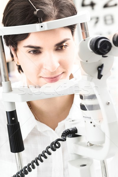 At the Optician Stock photo © nyul