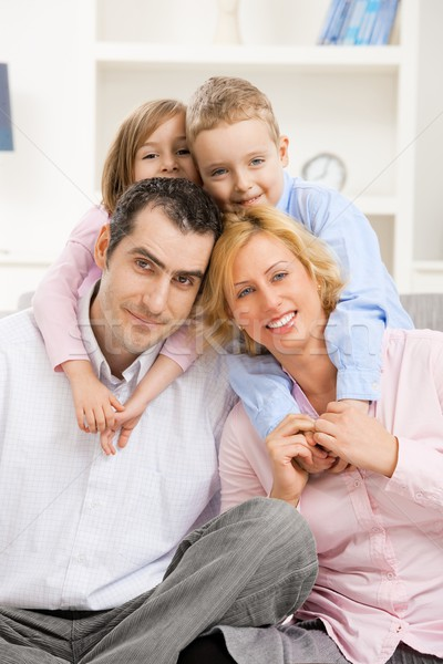 Happy family Stock photo © nyul