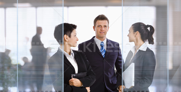 Businesspeople in office Stock photo © nyul