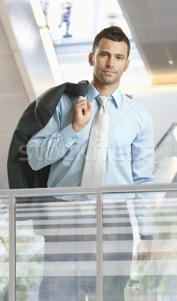 Casual businessman Stock photo © nyul