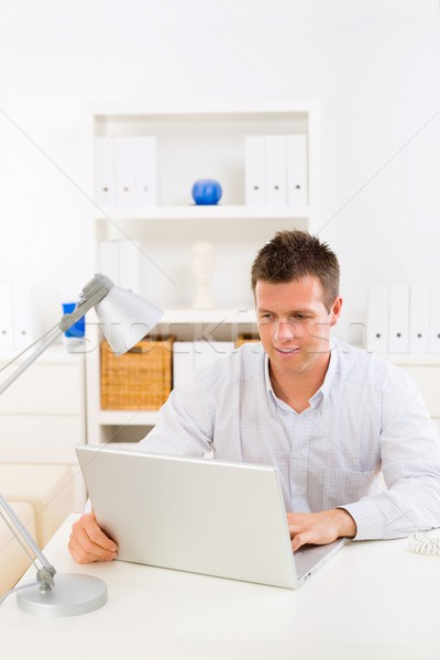 Business man working at home Stock photo © nyul