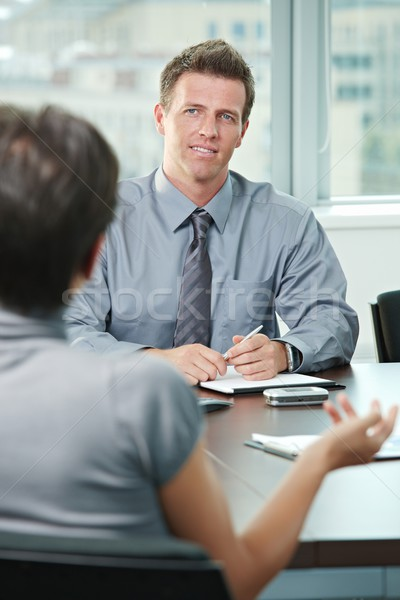 Business people talking Stock photo © nyul