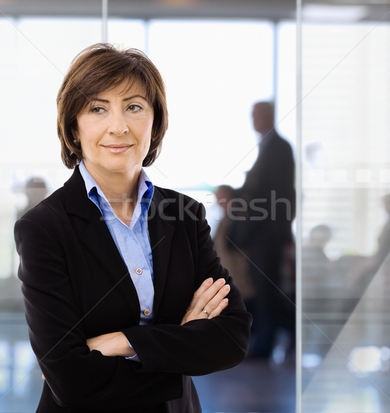 Senior businesswoman in office Stock photo © nyul