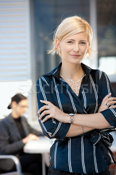 Stock photo: Confident businesswoman