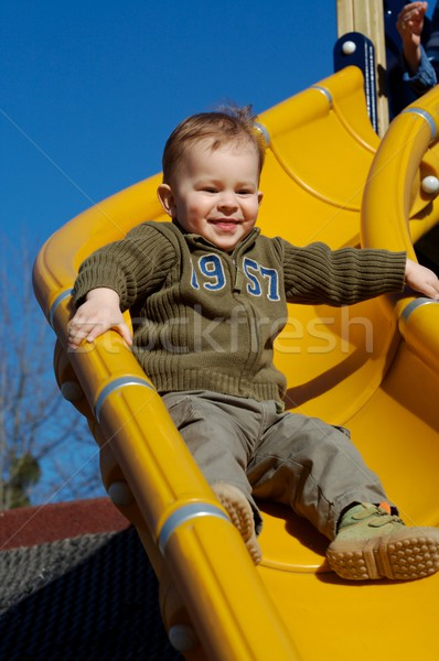 Enjoy the slide! Stock photo © nyul