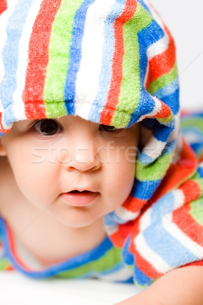 Baby in colors Stock photo © nyul