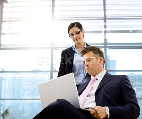 Businessman and associate Stock photo © nyul