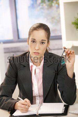 Business people talking at desk Stock photo © nyul