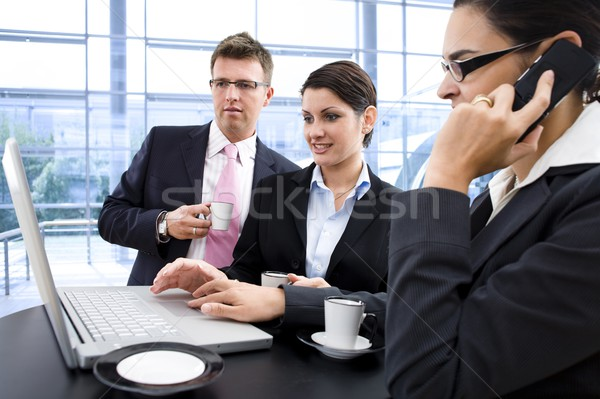 Businesspeople teamworking Stock photo © nyul