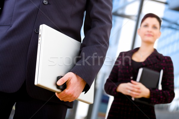 Business communication Stock photo © nyul