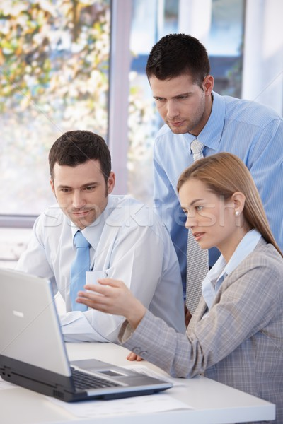 Small businessgroup working together Stock photo © nyul