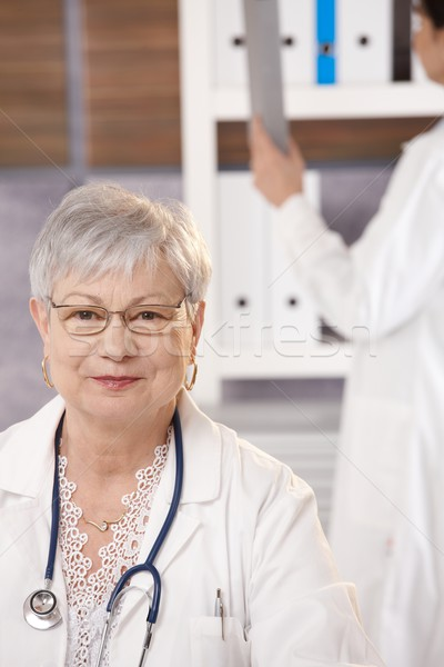 Stock photo: Portrait of senior doctor