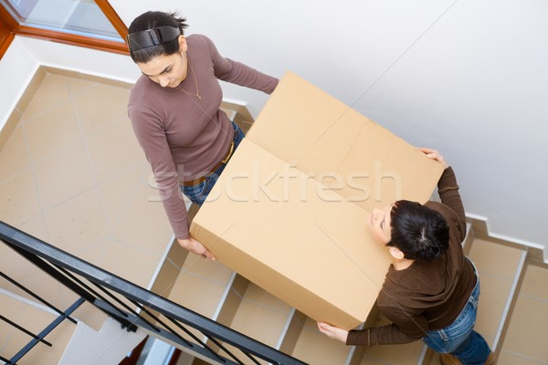 Moving to new home Stock photo © nyul