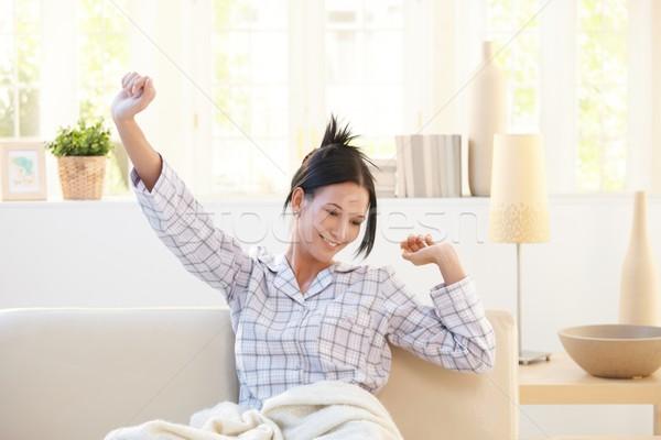 Sonriendo brillante salón Foto stock © nyul