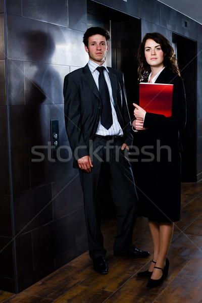 Businesspeople - corporate portrait Stock photo © nyul