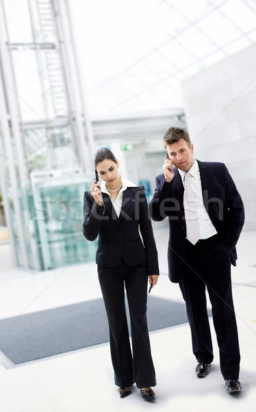 Busy business people Stock photo © nyul