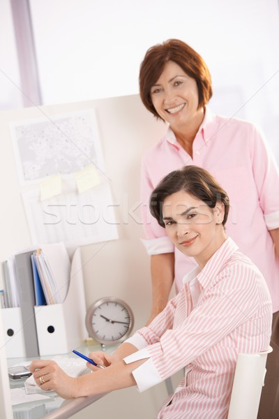 Portrait of confident office workers Stock photo © nyul