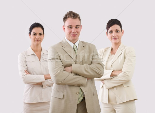 Portrait of businessteam Stock photo © nyul