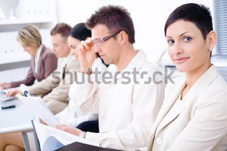 Young businesswoman Stock photo © nyul