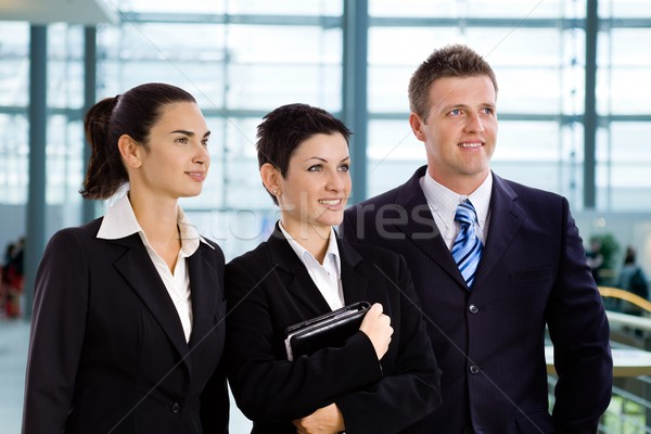 Successful young business people Stock photo © nyul