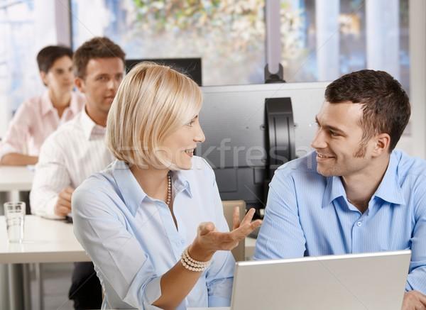 Stockfoto: Mensen · business · seminar · jonge · vergadering