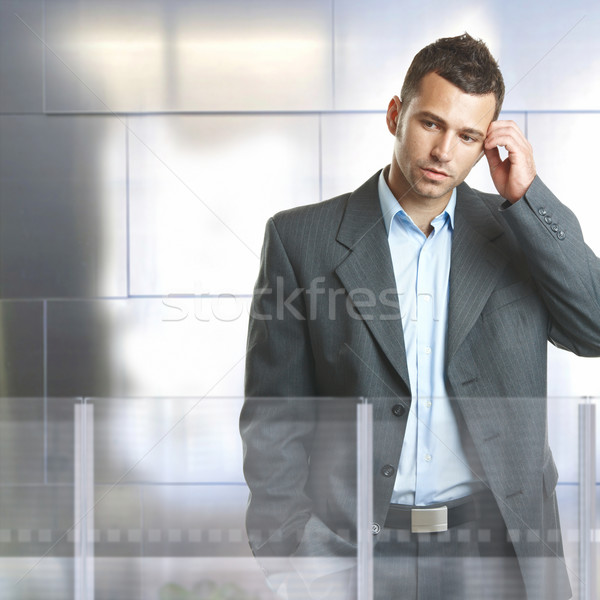 Worried businessman Stock photo © nyul