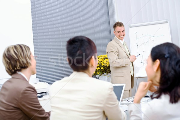 Business Training Stock photo © nyul