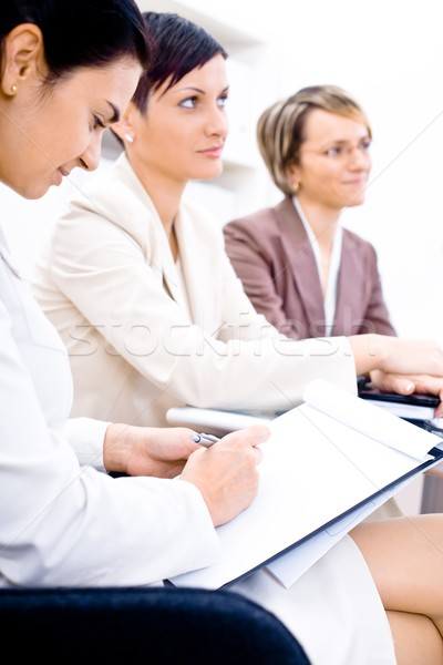 Business Attendees Stock photo © nyul