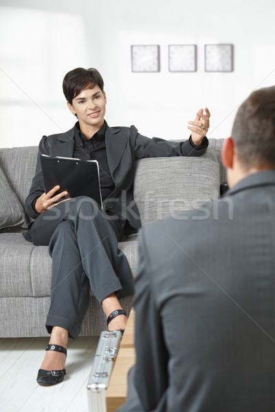 Business consultation Stock photo © nyul
