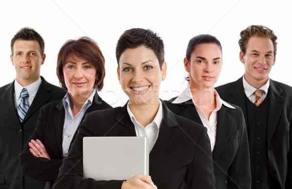 Happy business team Stock photo © nyul