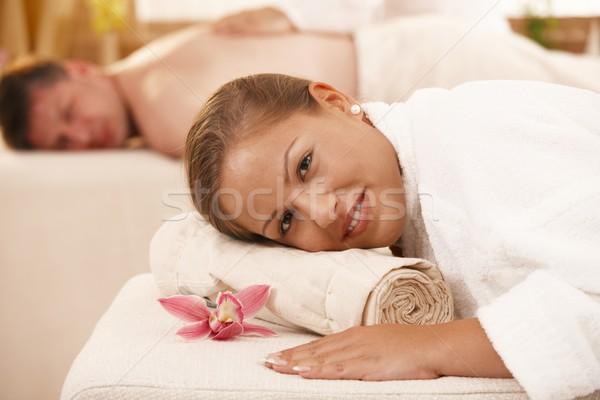 Couple in day spa Stock photo © nyul