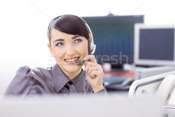Customer service representative Stock photo © nyul