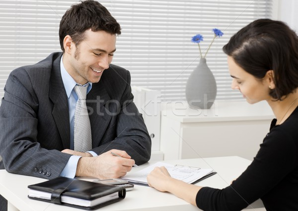 Business consultant Stock photo © nyul