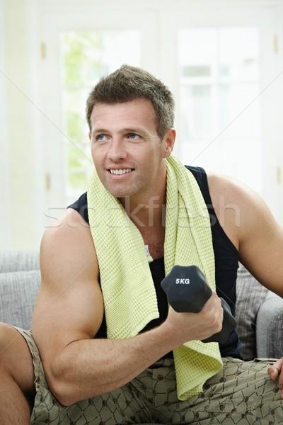 Biceps Stock photo © nyul