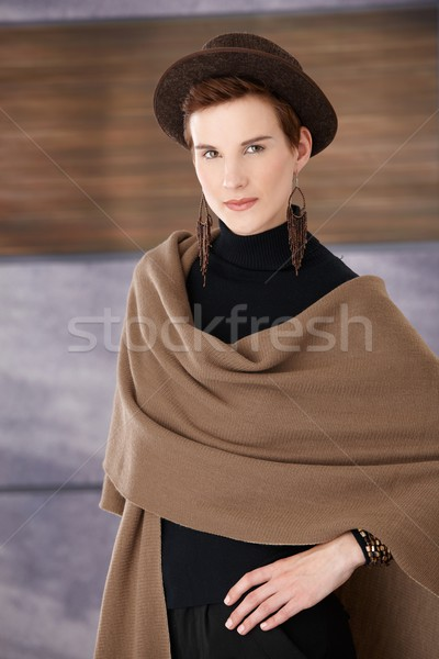 Woman in elegant fashion Stock photo © nyul