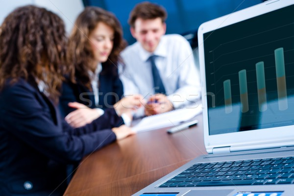 Business progress Stock photo © nyul