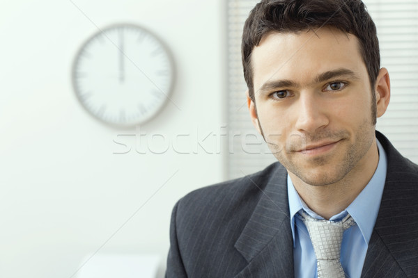 Young businessman at office Stock photo © nyul