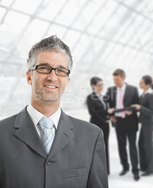Hapy businessman Stock photo © nyul
